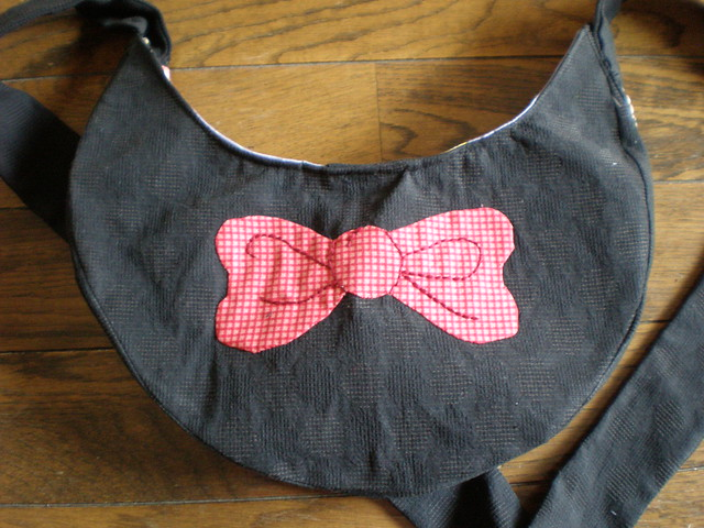 Cat Bag Bow Back