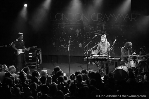 London Grammar @ The Independent, SF 3/27/14