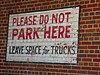 Please Do Not Park Here, Hagerstown, MD