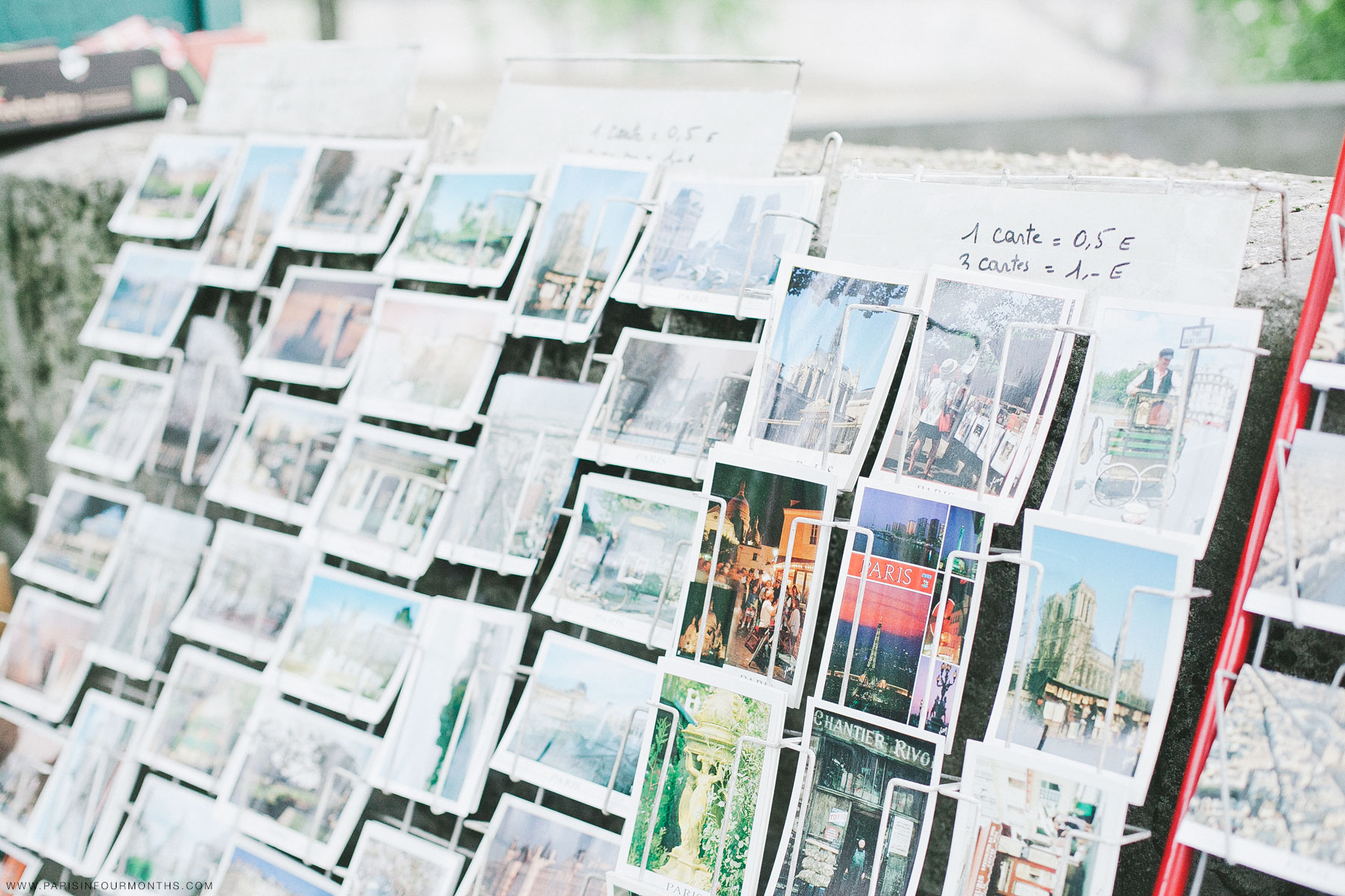 Postcards in Paris by Carin Olsson (Paris in Four Months)