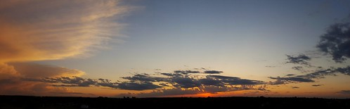 sunset panorama bartlesville soonerpark cloudsstormssunsetssunrises galaxys6 soonerparktower