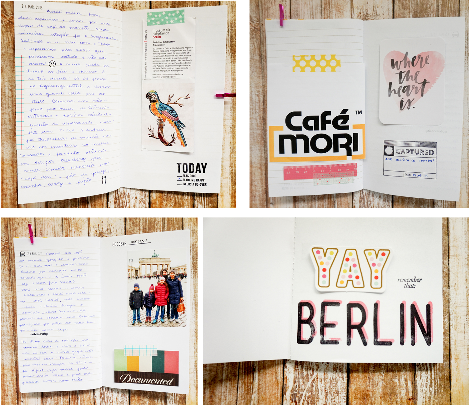 Berlin Travelers Notebook