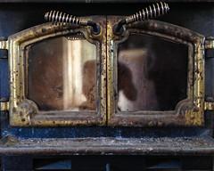 windowed stove