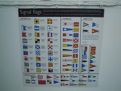 Royal Yacht Britannia (Flag Signals)