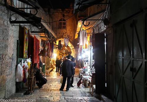 Street in the Muslim Quarter