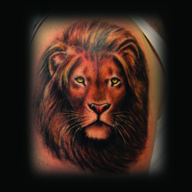 Erdoğan Çavdar Dövmeleri - Aslan Dövmesi / Lion Tattoo
