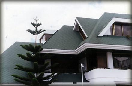 Las tejas asf lticas mant n tu techo decorado y for Diferentes tipos de techos para casas