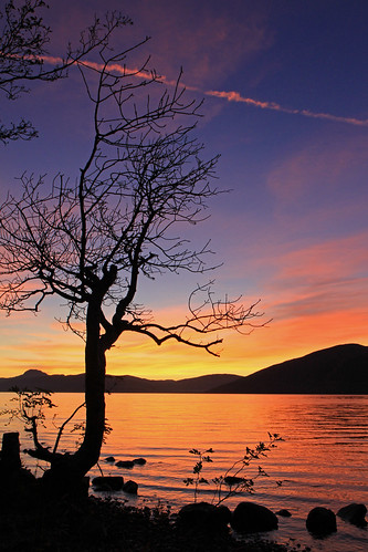 Great Glen Sunset.