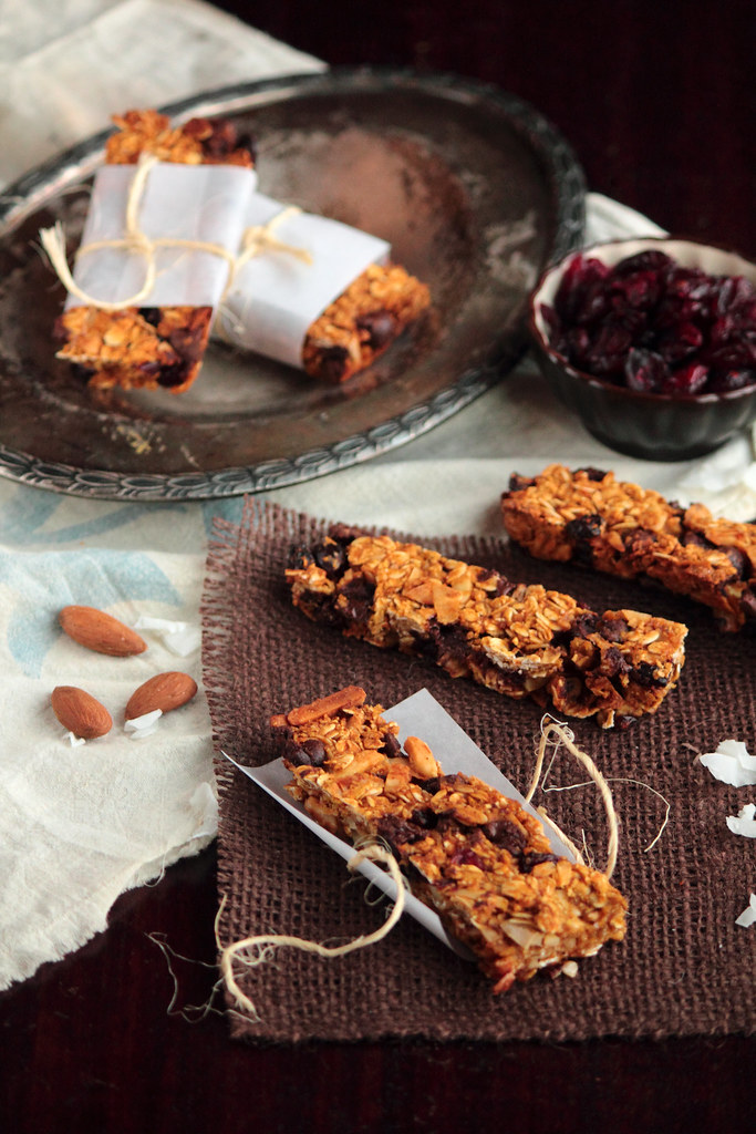 Pumpkin Chocolate Granola Bars