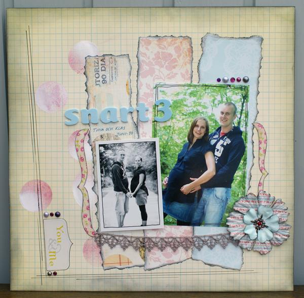 Scraplift - Susanne Harrysson, snart 3