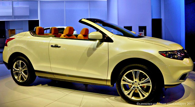 yellow 2012 nissan murano convertible flickr photo. Black Bedroom Furniture Sets. Home Design Ideas