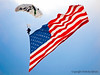 Parachuting Flag