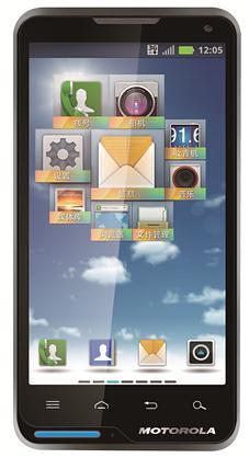 Motorola XT615 black front