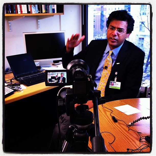 Atul Gawande Video Shoot