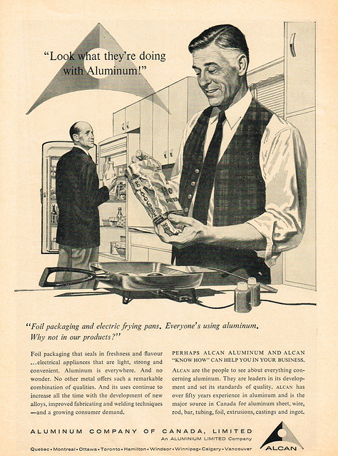 Vintage Ad #1,755: Look what they're doing with aluminum!