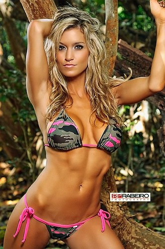 Casey Luckey. Worked with Brent Allen, Hooters, Hooters Calendar 2009-2012, top ten in 2011 International Swimsuit Pageant, Status magazine , 2011 NPC Central Florida Bikini winner