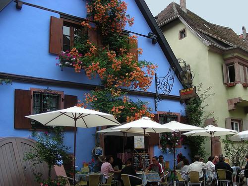 Riquewihr: romantická alsaská obec uprostřed vinic