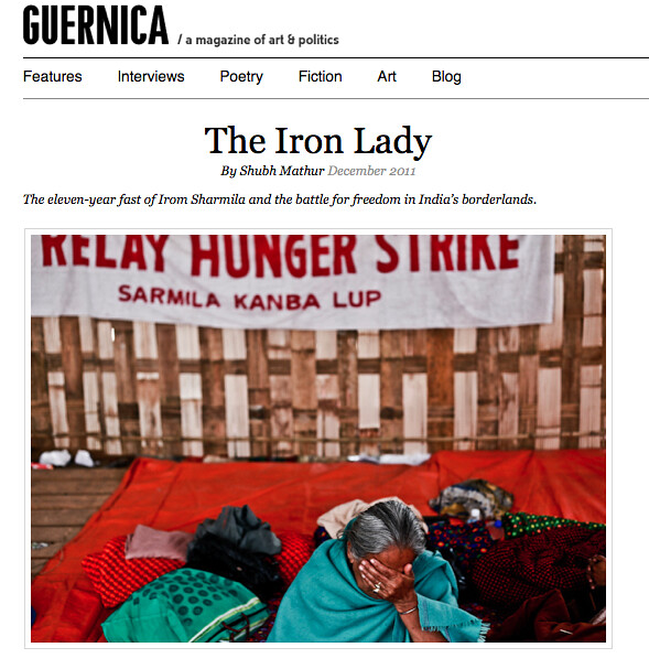 Guernica Magazine - Iron Lady - December 2011