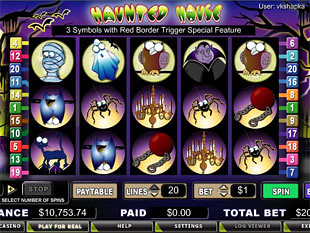 Haunted House slot game online review