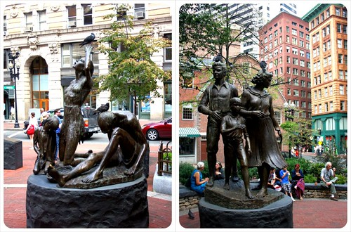 irish famine sculpture boston