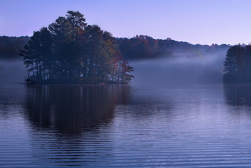 morning travel autumn mist lake reflection art nature water fog canon georgia eos dawn 7d canoneos stonemountain naturescenes tommysimms georgiaoutdoors theworldthroughmyeyes canoneos7d canon7d copyrighttommysimms 1108110157