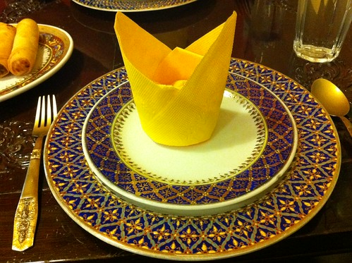Ploy Thai authentic table setting