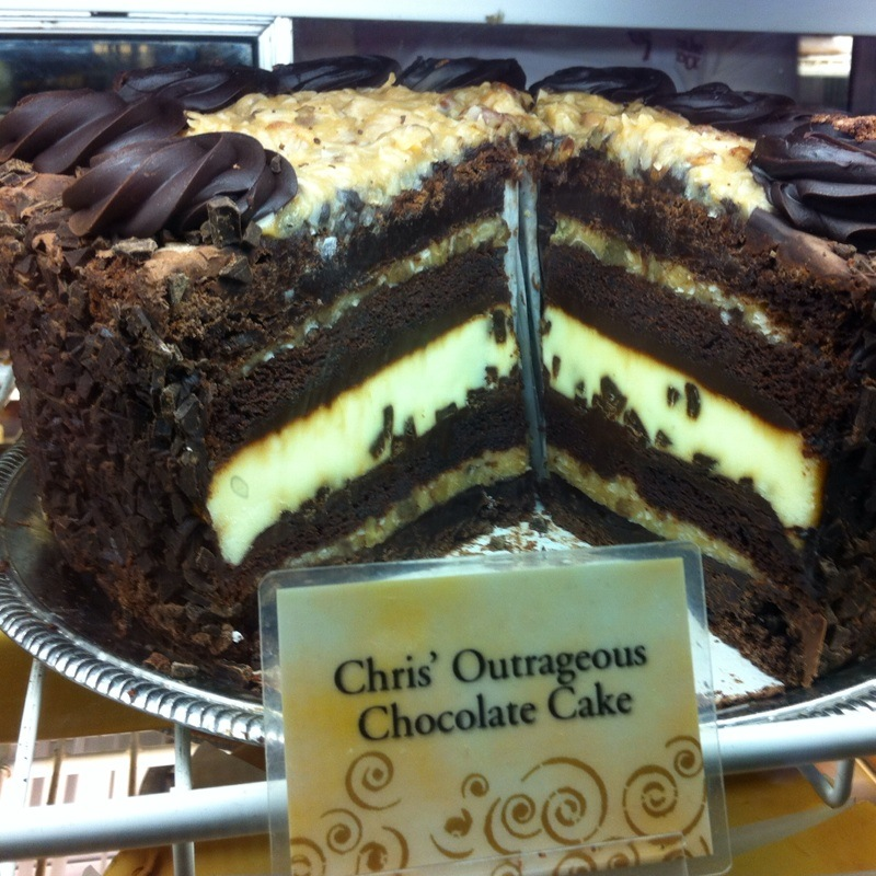 Cheesecake Factory Chocolate Cake Menu