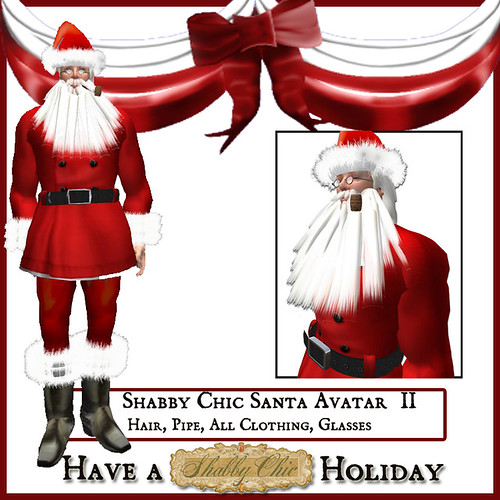 Shabby Chic Santa Avatar II by Shabby Chics