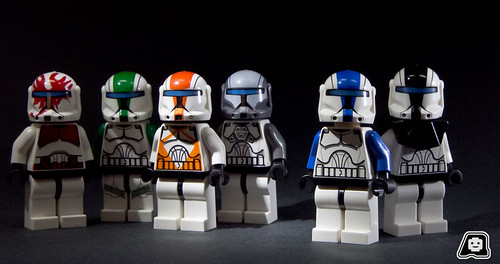Glowing Commandos