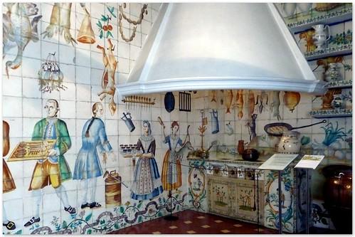 El tiempo por si mismo cocina valenciana de azulejos for Cocina valenciana