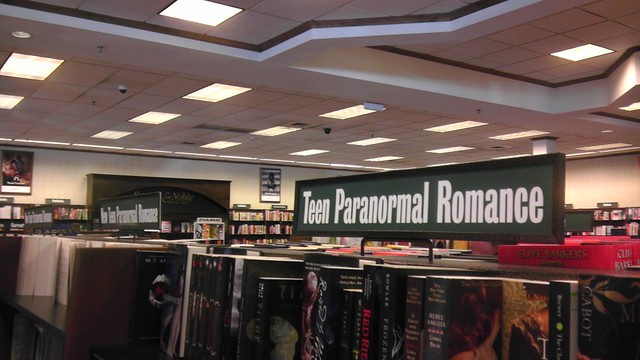 Teen Paranormal Romance. A bookstore section that didn't exist a decade ago.