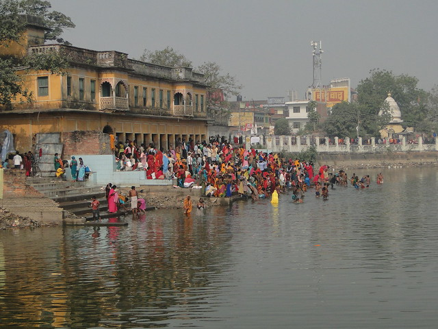 Ritual Bathing in Janakpur