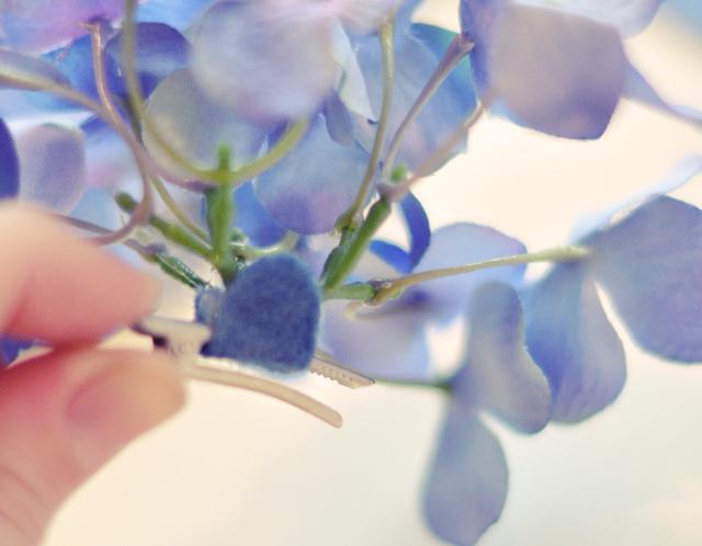 NEW Flower Hair Clips DIY_Flower Christmas Tree Ornaments-9