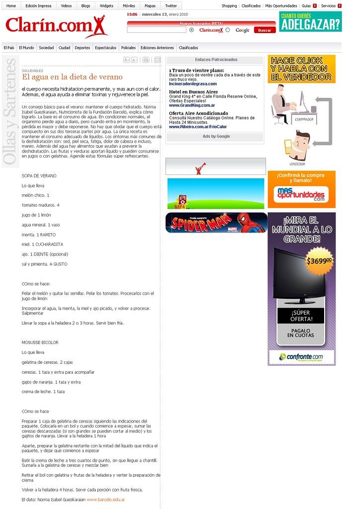 Site Diario Clar°n 13-01-10.Nota