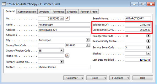 Printables Credit Limit Worksheet credit warnings field in the sales receivables setup table check limit for customer