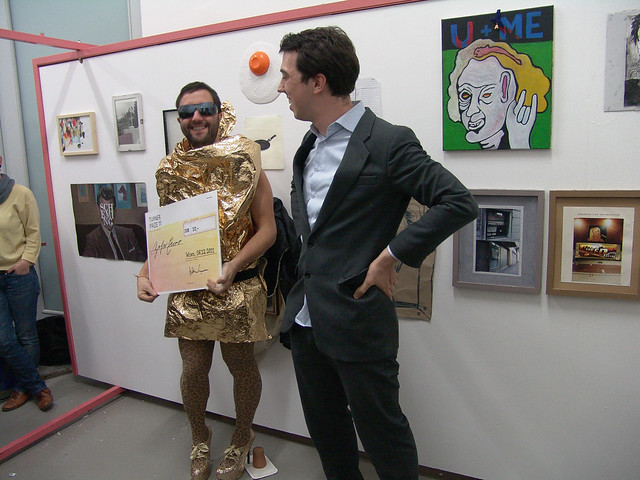 Salvatore Viviano wins the 2011 Turner Prize