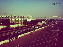 outside View Of Jawaharlal Nehru Stadium