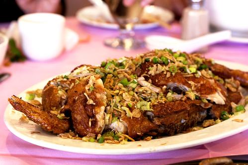 crispy chicken @ canton gourmet
