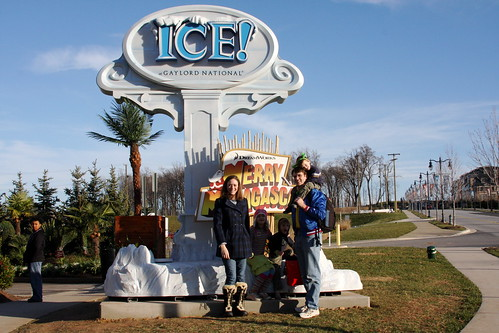 Outside Gaylord ICE 2011