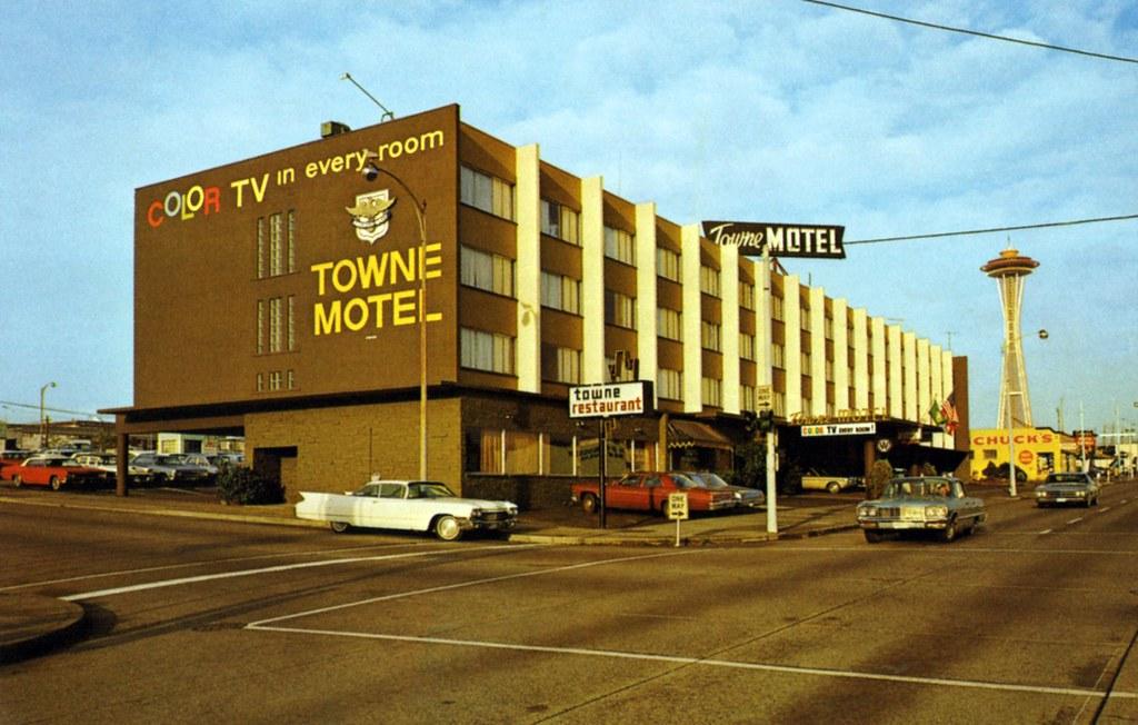 America West Towne Motor Hotel - Seattle, Washington