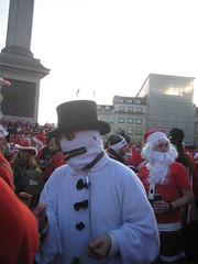 Snowman - Santcon 2011 - Trafalgar Square