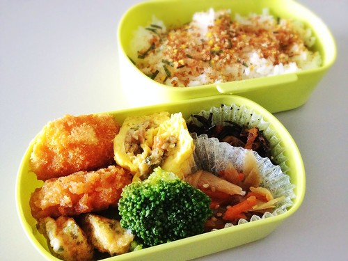 今日のお弁当 No.237 – 鰹みりん焼