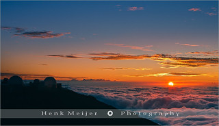 Sunset above the Clouds - Haleakala N.P - Maui - Hawaii