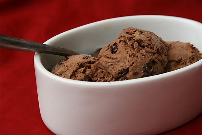 chocolate berry ice cream 4