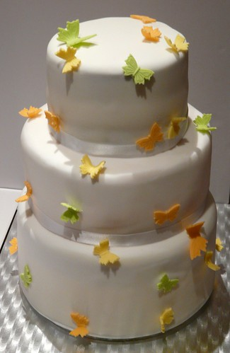 Butterfly Wedding Cake by Sugar Daze (f/k/a LittleMissCupcakeParis)
