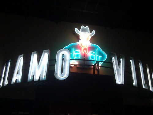 At the newly renovated Alamo @drafthouse Village to see A Christmas Story