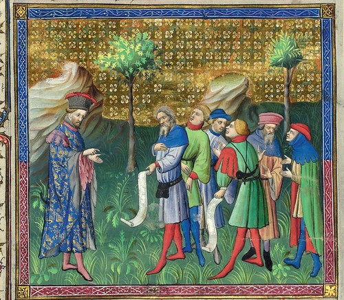 005-Le Livre de la chasse-1407- Gaston Phoebus- MS M. 1044 – fol 42v-detalle-© The Morgan Library & Museum