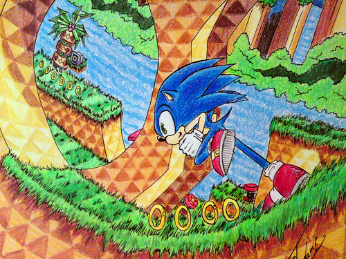 Sonic CD Fan Art Contest Grand Prize Winner - Mexico