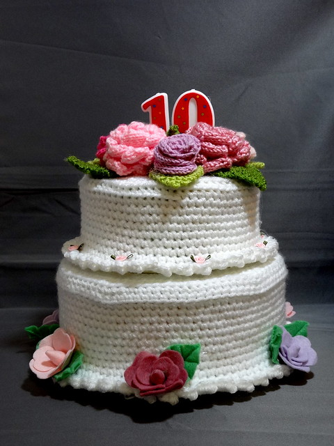 Fabulous Happy 10th Wedding Anniversary Cake 375 x 500 · 114 kB · jpeg