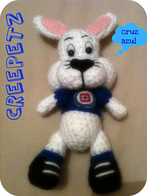 Dragon Azul Amigurumi : mascota cruz azul amigurumi Flickr - Photo Sharing!